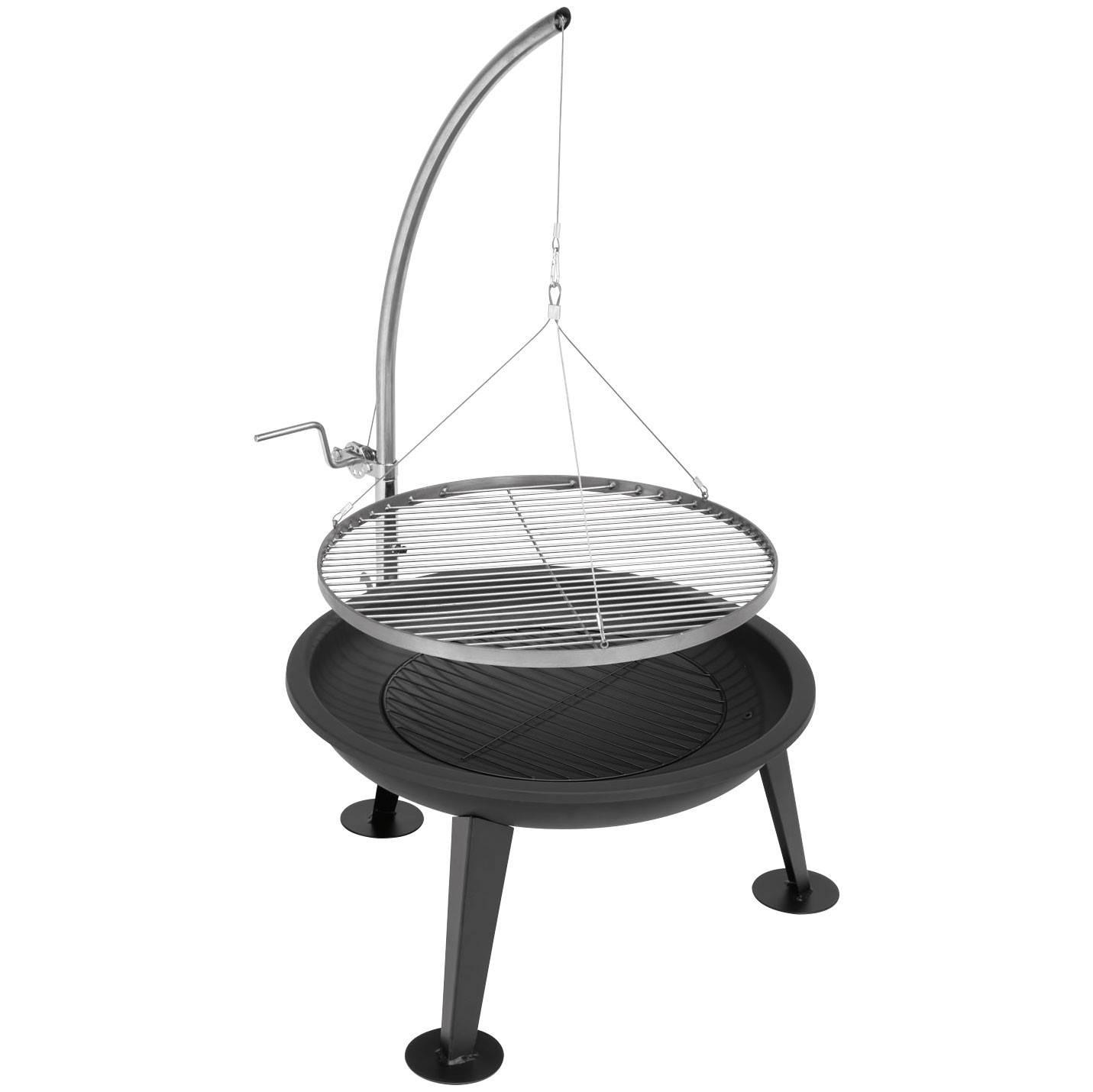 justus feuerschale schwenkgrill narziss. Black Bedroom Furniture Sets. Home Design Ideas