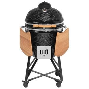 JUSTUS Keramik-Grill Black J'egg Duo XL
