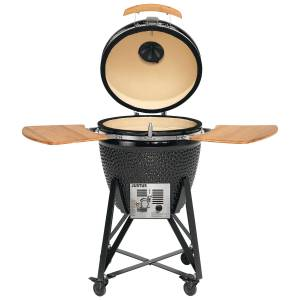JUSTUS Keramik-Grill Black J'egg Duo XL